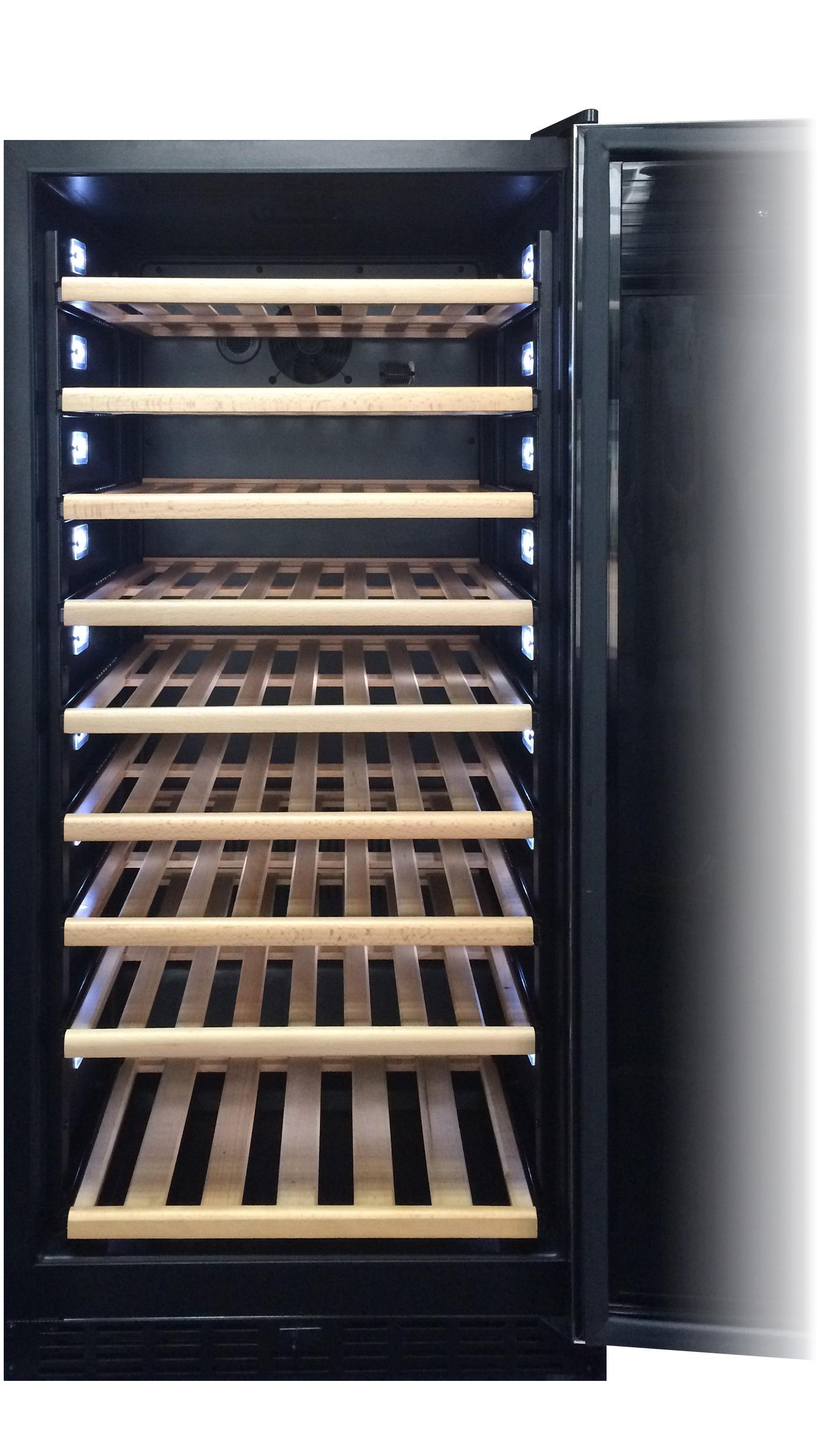 エディフラン カーヴ EF3-S-BG はワインに温度変化を与える機能に特化しています。